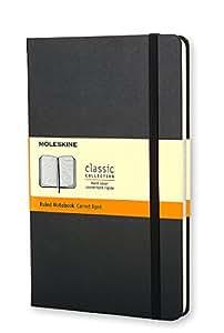 Moleskine Klassisches Notizbuch Pocket, Hardcover, liniert, schwarz