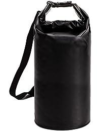 ALLCAMP 5L-/10l/40L Premium wasserdichte Tasche, Dry Bag und lang inklusive verstellbarer Schulterriemen, perfekt für Kajak/Bootsleine/Kanu/Angeln/Rafting/Schwimmen/Camping/Snowboarden