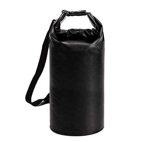ALLCAMP Bolsas Estancas 5L/10L/40L Dry Bag Funda impermeable Saco impermeable Pack Saco Mochila Bolsa de secado Ideal para barco conducción/Kayak/pesca/rafting/Natación/nadando/camping