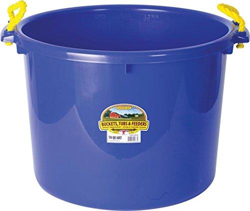 Miller Herstellung 1,75 Bushel Blau Muck Bucket P-SB70-BLUE -