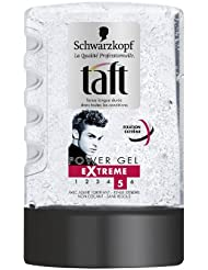 Taft - Gel Coiffant - Power Gel Extrême - Flacon 300 ml