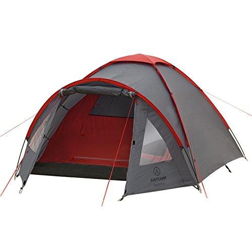 justcamp-scott-4-campingzelt-mit-vorraum-4-personen-kuppelzelt-iglu-grau