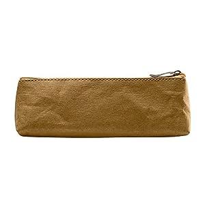 gossipboy lavable papel Kraft papel Vintage pluma bolsa simple caja estuche portátil soporte de almacenamiento de…