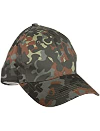 MENS BOYS 100% COTTON CAMOUFLAGE BASEBALL CAP WITH SNAP BACK ADJUSTER