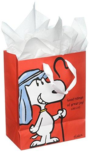 Peanuts Medium Specialty Geschenk Tüte-Weihnachten-Gute Nachricht kommt Viel Freude (Dayspring Geschenke)