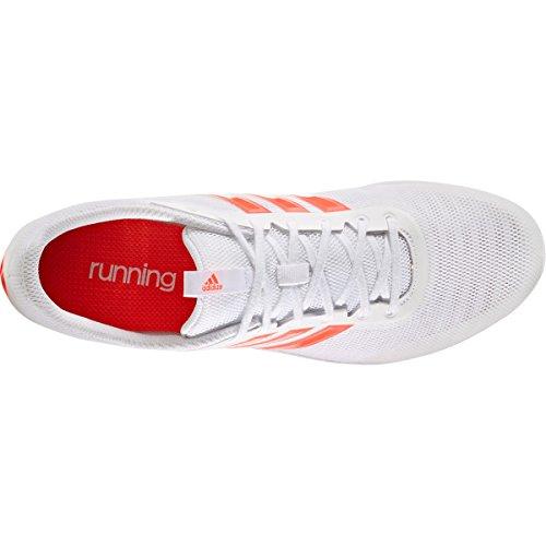 adidas Distancestar White Solar Red weiss (100)