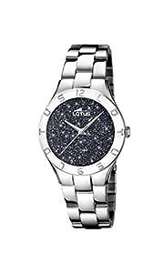 Lotus Watches Reloj Análogo clásico para Mujer de Cuarzo con Correa en Acero Inoxidable 18568/4