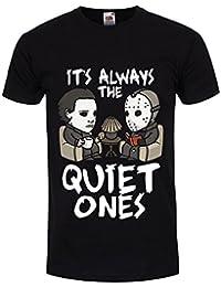 Men's It's Always The Quiet Ones T-Shirt Black