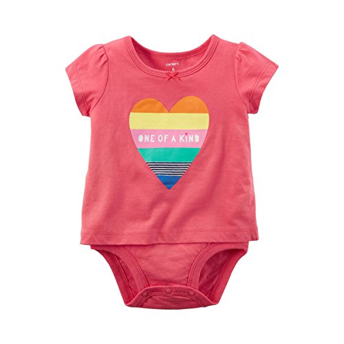 CARTER´S Shirt-Body Kurzarm Herz (Carters Herz)