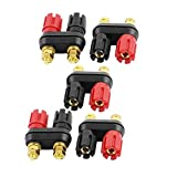uxcell 5pcs Dual Jack Terminal Amplifier Binding Posts for 4mm Banana Plug