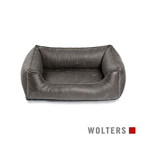 WOLTERS Senator Lounge versch. Größen und Farben, Größe:Gr. L 105 x 80 cm, Farbe:Vintage grau -