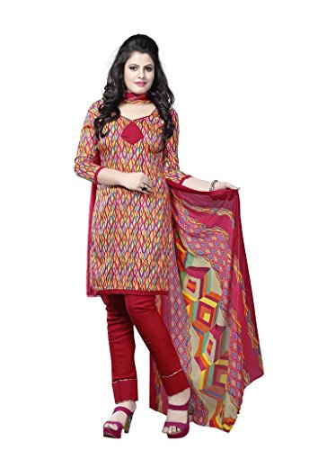 Readymade Minu Suits Cotton Stitched Dress Material New Multi