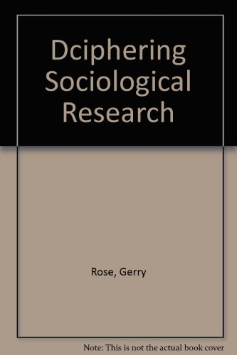 Dciphering Sociological Research