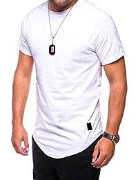 MT Styles Oversize T-Shirt manches courtes homme C-9010