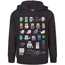 Minecraft Sprites Boys Black Hoodie