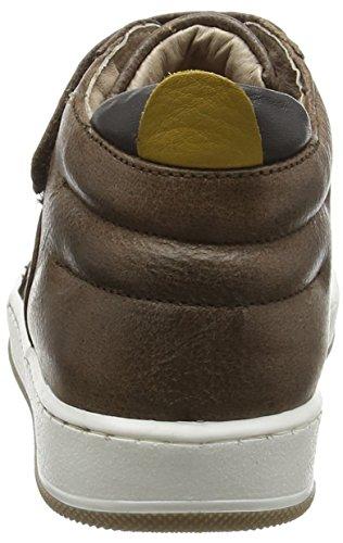 Garvalin Muld, Sneakers Hautes Garçon Marron (Castagno)