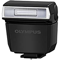 Olympus FL-LM3 - Flash con Zapata para E-M5 y Pen, Color Negro