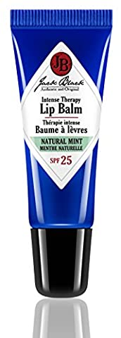 Jack Black Intense Therapy Lip Balm SPF25, Natural Mint and Shea Butter 7 g
