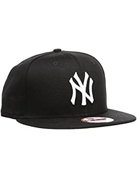 A NEW ERA MLB 9 Fifty - Gorra Unisex, Color Negro/Blanco, Talla S/M, 11180834