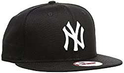 New Era Unisex Cap MLB 9fifty NY Yankees, Schwarz/Weiß, S/M, 11180833