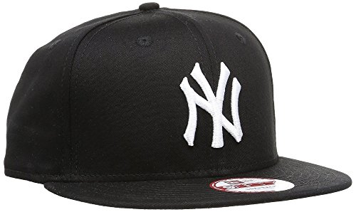 New Era Unisex Cap MLB 9fifty NY Yankees, Schwarz/Weiß, S/M, 11180833