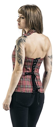 Rock Rebel by EMP Only One Corsetto rosso Rosso