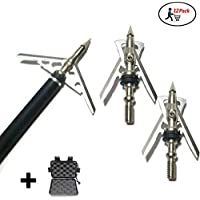 WEREWOLVES 12 pcs Tir à l arc Hypodermique Broadheads 2 Lame 100 Grain 2 en 388e3f1a4448