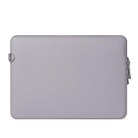 Sac Pochette Ordinateur Portable Tablette PC Housse - Gris, 12 inch