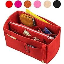 4b160febd Organizador de fieltro (con bolsa de cremallera media desmontable), bolsa  en bolsa,