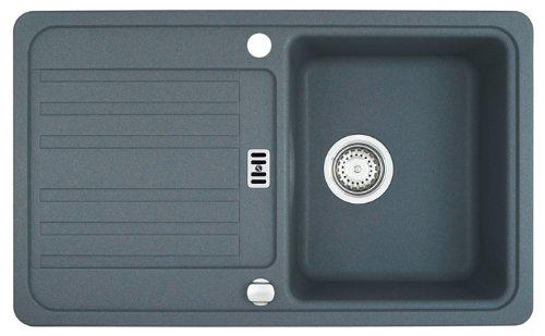 Preisvergleich Produktbild Franke Euroform EFG 614-78 Steingrau Fragranit-Spüle Abwaschbecken Küchenspüle