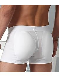 Kiniki Allure Bunz Shorty Sous-vêtements sexy pour homme Blanc