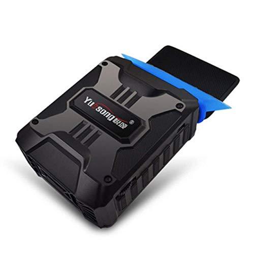 Ventilateur de refroidissement du processeur Ordinateur portable Mini Vacuum USB Cooler Extraction D'air Ventilateur de Refroidissement CPU Refroidisseur for Ordinateur Portable Matériel de Refroidiss