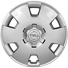 Opel Recambios Originales GM 1 x Tapacubo Plata Cromado 16 Pulgadas Astra H Zafira B 13209732