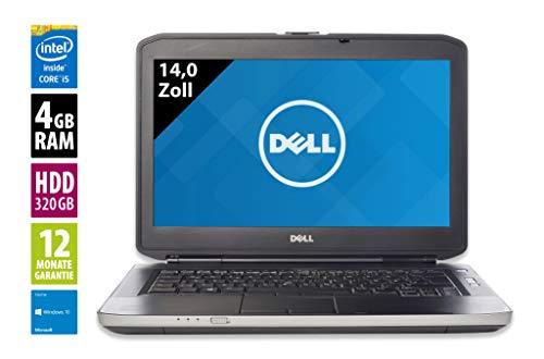 Dell Latitude E5430 Notebook / Laptop | 14 Zoll Display | Intel Core i5-3340M @ 2,7 GHz | 4GB DDR3 RAM | 320GB HDD | DVD-Brenner | Windows 10 Pro (Generalüberholt) Dell Laptop Latitude Notebooks