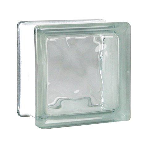 5 piezas FUCHS bloques de vidrio nube neutro 11,5x11,5x8 cm