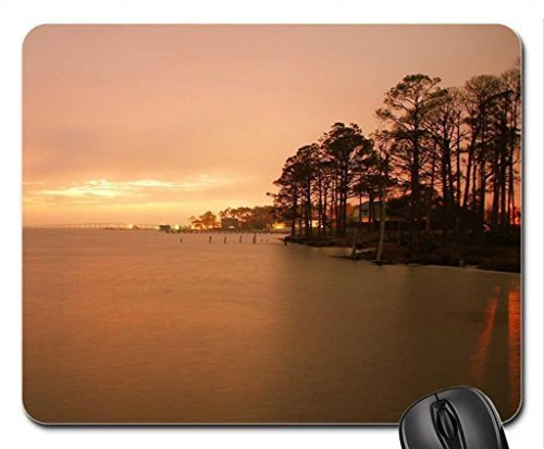 Morning Mist Mouse Pad, Mousepad (Laghi Mouse Pad) #020