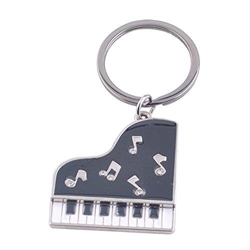 Preisvergleich Produktbild Joyfeel buy 1 Stück Kreatives Schlüsselanhänger Klavier Styling Frauen Tasche Anhänger Legierung Schlüsselbund für Schlüssel / Auto / Tasche / Handy