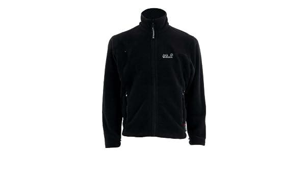 JACK WOLFSKIN MOONSHINE Fleece Jacke men 2011 Farbe: black