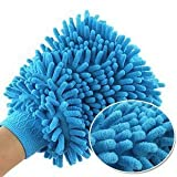 Skywalk Microfibre Dust Glove Double Side - BUY 2 GET 1 FREE + Free 1 Incense Stick Pack for Good Smell
