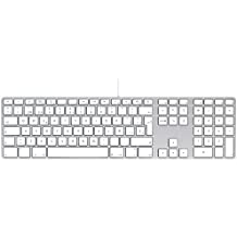Apple MB110Y/B - Teclado (USB 2.0, QWERTY español), Blanco