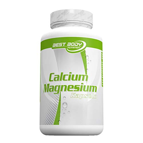100 Kapseln Calcium (Best Body Nutrition Calcium Magnesium ( 2 x 100 Kapseln = 200 Kapseln ))