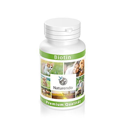 Naturendo Biotin 120 Tabletten speziell für Hunde - strapazierfähiges und gesundes Fell