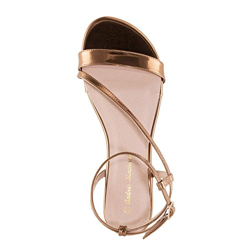Femmes Piatti Soft Andres Machado 45 sandales Formati grandes 42 Am5234 pour Rame qWSXSrn