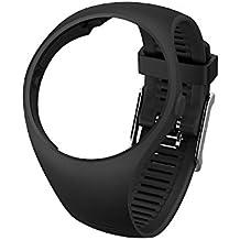 POLAR Armband M200 black Größe M/L Wechselarmband, Schwarz, M/L