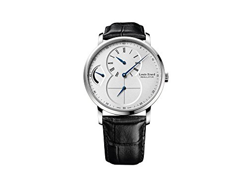 Louis Erard Excellence Regulator Manual Watch, White, 40 mm, 54230AA01.BDC02