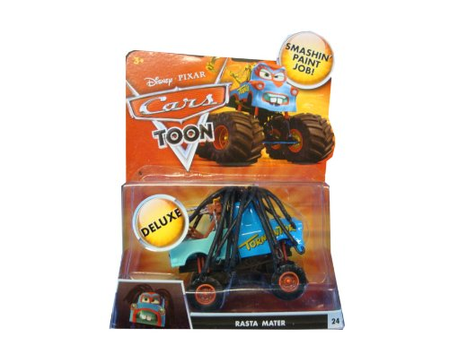 Disney Pixar Cars Toon Monster Truck Rasta Mater (Hook) / Aktion Modell mit Sound und Fight Funktionen! (Disney Cars Monster Truck)