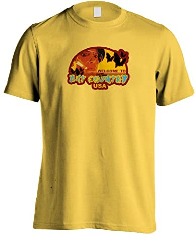 Fear and Loathing in Las Vegas - Bat Country USA T-shirt