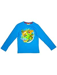 Boys Teenage Mutant Ninja Turtles Shell Surfing Long Sleeve Top sizes from 3 to 8 Years
