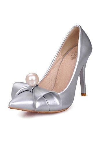 WSS 2016 Chaussures Femme-Mariage / Habillé / Soirée & Evénement-Noir / Vert / Rose / Rouge / Blanc / Argent-Talon Aiguille-Talons / Escarpin black-us10.5 / eu42 / uk8.5 / cn43