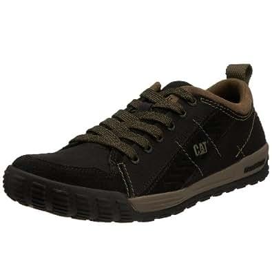 CAT Footwear Men's Vero Canvas Trainer Black p712129 12 UK